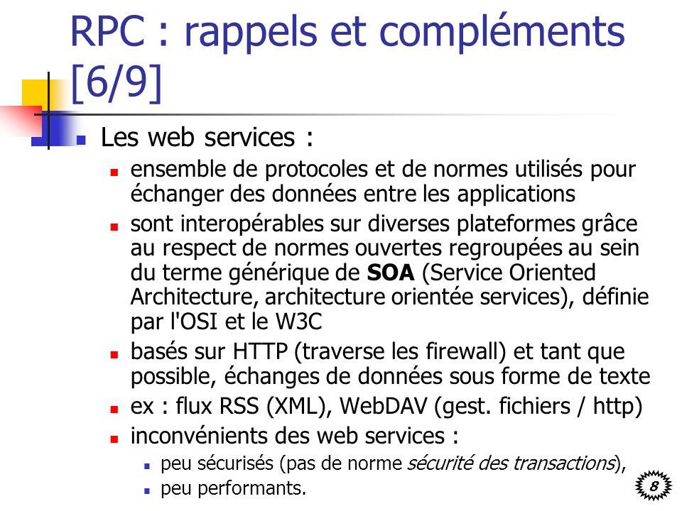 RPC : rappels et compléments [6/9]